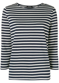 A.P.C. classic striped jumper
