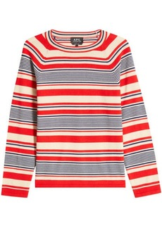 A.P.C. Striped Merino Wool Pullover