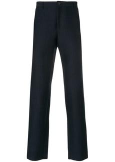 A.P.C. striped slim fit trousers