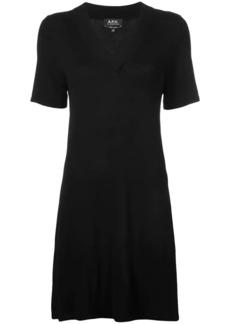 A.P.C. v-neck dress
