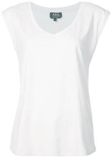 A.P.C. v-neck T-shirt