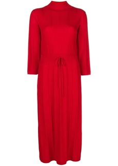 A.P.C. Vivianne ribbed midi dress