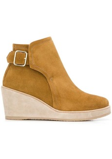 A.P.C. wedged ankle boots