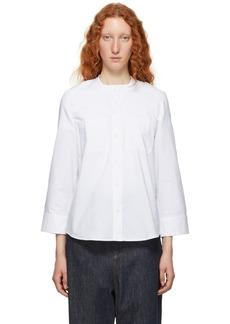 A.P.C. White & Blue Talia Shirt