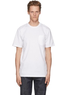 A.P.C. White Double T-Shirt