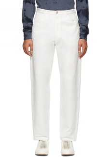 A.P.C. White Job Trousers