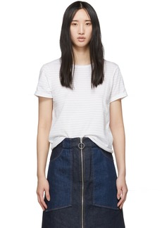 A.P.C. White Millbrook T-Shirt