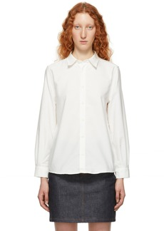 A.P.C. White Mireille Oxford Shirt