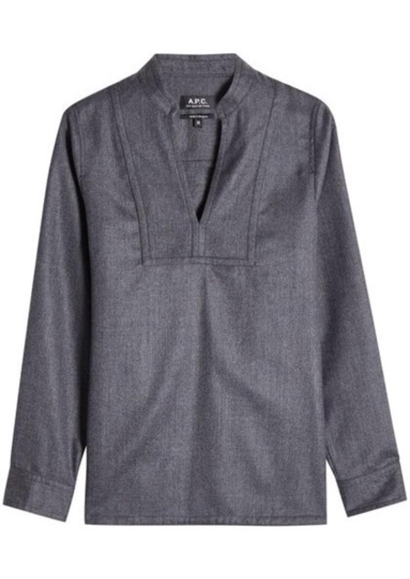 A.P.C. Wool Tunic Top