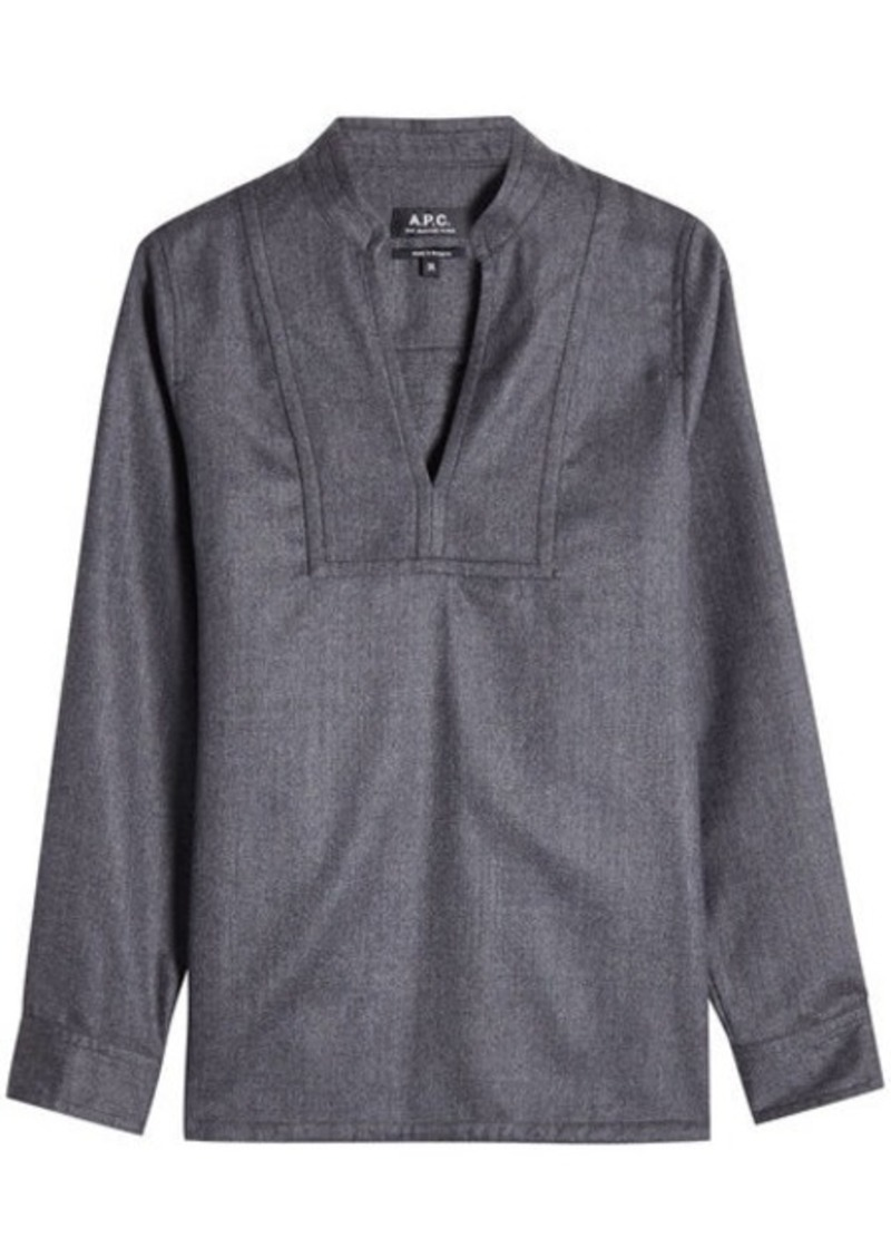 A.P.C. Wool Tunic Top
