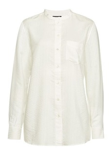 A.P.C. Woven Striped Marie Blouse
