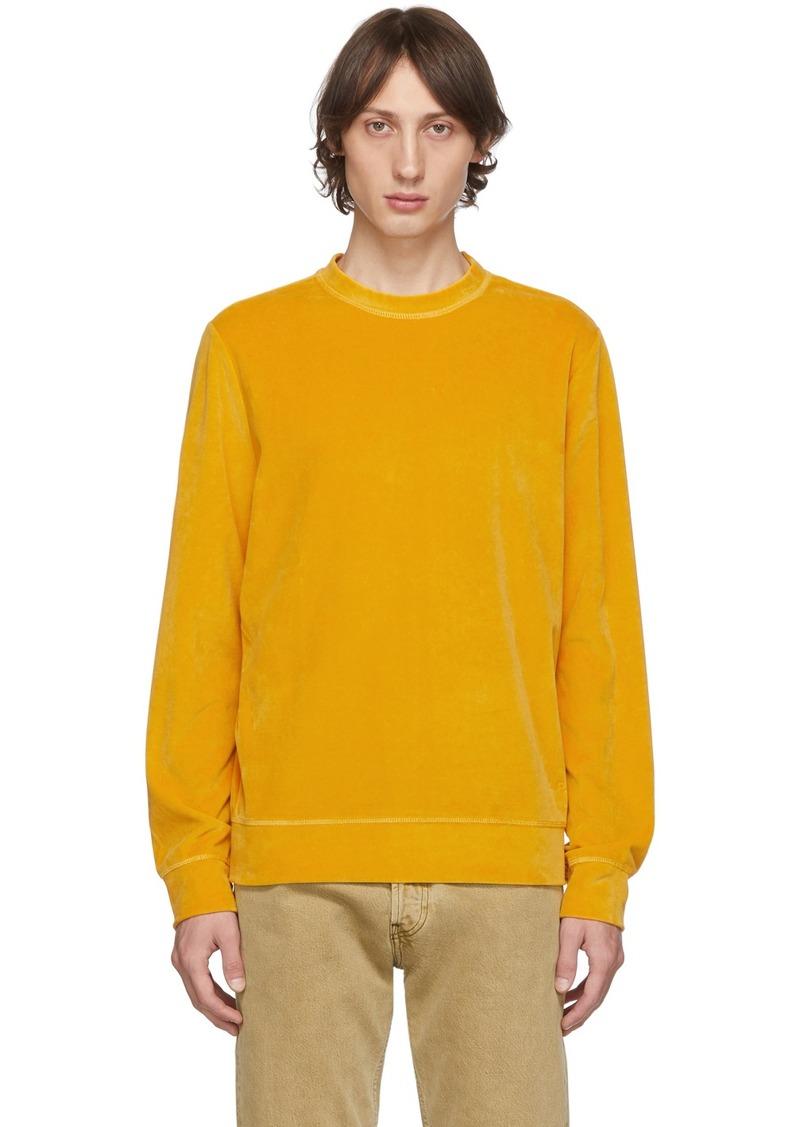 A.P.C. Yellow Band Sweatshirt