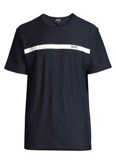 A.P.C. Yukata Cotton T-Shirt
