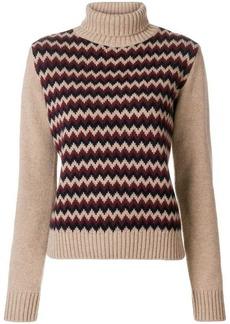 A.P.C. zigzag knit sweater