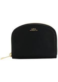 A.P.C. zip around purse