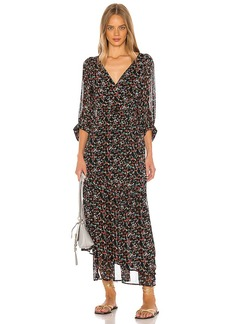 APIECE APART Bouganvillea Wrap Dress