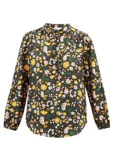 APIECE APART Core Bravo floral-print silk blouse