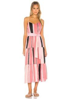 APIECE APART Marjana Spaghetti Maxi Dress