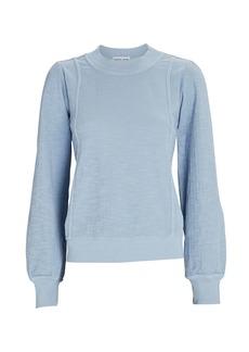 Apiece Apart Cala Cotton Sweatshirt