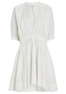 Apiece Apart Cobano Organic Cotton Poplin Mini Dress