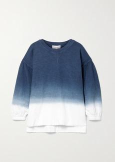 Apiece Apart Delle Ombre Organic Cotton-jersey Sweatshirt