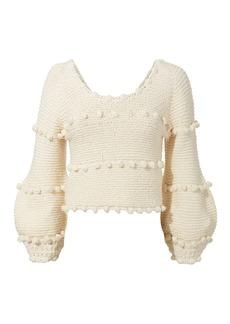 Apiece Apart Hyachinth Pom Pom Sweater