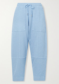 Apiece Apart Surf Organic Cotton-jersey Track Pants