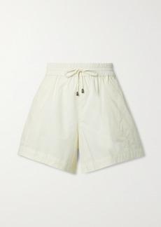 Apiece Apart Trail Cotton-poplin Shorts