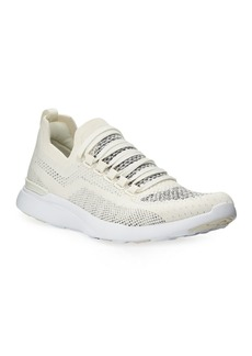 APL Athletic Propulsion Labs APL: Athletic Propulsion Labs Techloom Breeze Knit Mesh Running Sneakers