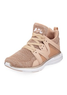 APL Athletic Propulsion Labs Ascend Metallic Mid-Top Sneakers
