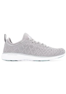 APL Athletic Propulsion Labs fly knit lace-up sneakers