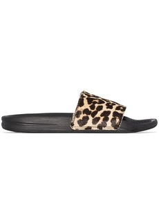 APL Athletic Propulsion Labs Iconic leopard-print slides