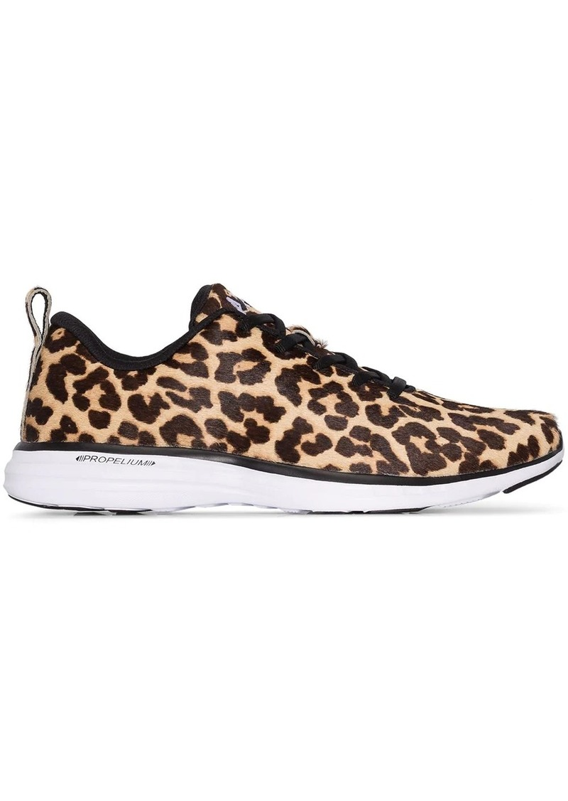 APL Athletic Propulsion Labs Iconic pro leopard-print sneakers