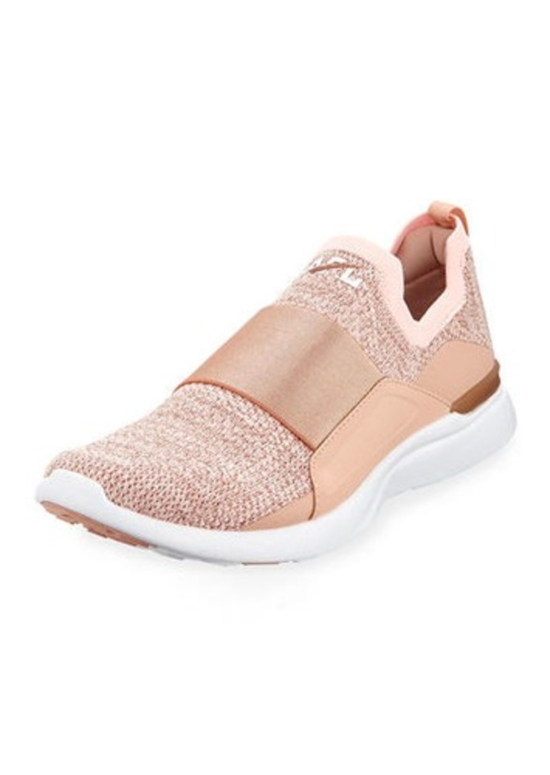 cc6e3832be0 APL Athletic Propulsion Labs Techloom Bliss Metallic Knit Slip-On Running  Sneakers