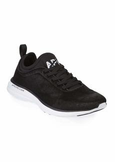 APL Athletic Propulsion Labs Techloom Phantom Calf Hair Sneakers