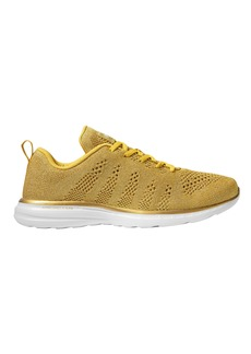 APL Athletic Propulsion Labs TechLoom Pro Metallic Gold Low-Top Sneakers