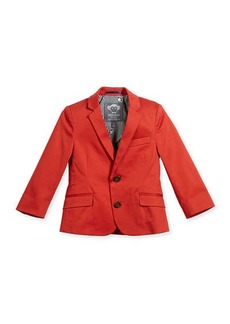 Appaman Boys' Cotton-Stretch Blazer