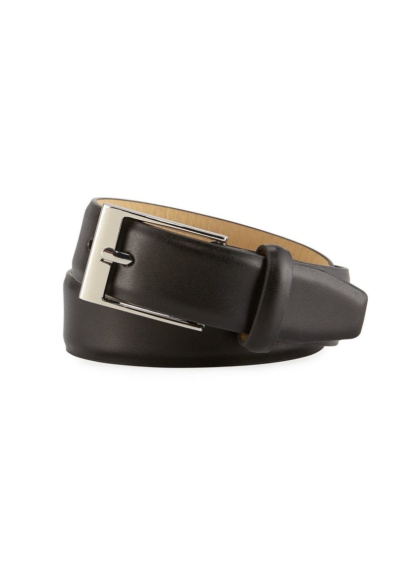 Appaman Boys' Faux-Leather Dress Belt  Black  S-L