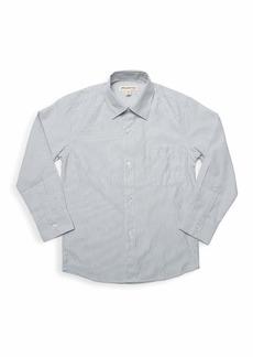 Appaman Boy's Standard Micro Grid Dress Shirt  Size 2-12
