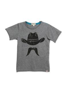 Appaman Distressed Cowboy Graphic T-Shirt