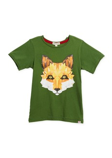 Appaman Geometric Fox Graphic T-Shirt