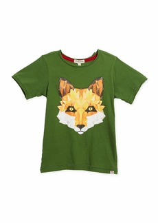 Appaman Geometric Fox Graphic T-Shirt