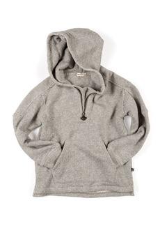 Appaman Half-Zip Herringbone Knit Hoodie