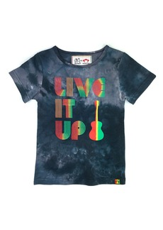 Appaman x Ziggy Marley Kids' Live It Up Tie Dye Graphic Tee (Toddler, Little Boy & Big Boy)