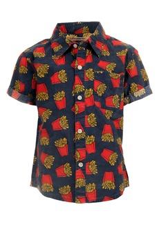 Appaman Kids' Playa Short Sleeve Button-Up Camp Shirt (Toddler, Little Boy & Big Boy)