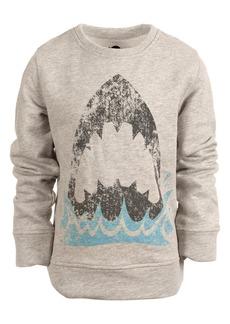 Appaman Kids' Shark Graphic Crewneck Sweatshirt (Toddler, Little Boy & Big Boy)