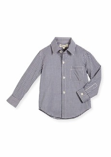 Appaman Long-Sleeve Cotton Gingham Shirt