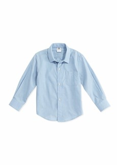 Appaman Long-Sleeve Cotton Pin-Dot Shirt