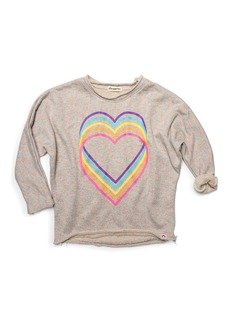 Appaman Love Rainbow Graphic Slouchy Sweatshirt  Size 2-14