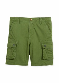 Appaman Mesa Cotton-Stretch Cargo Shorts
